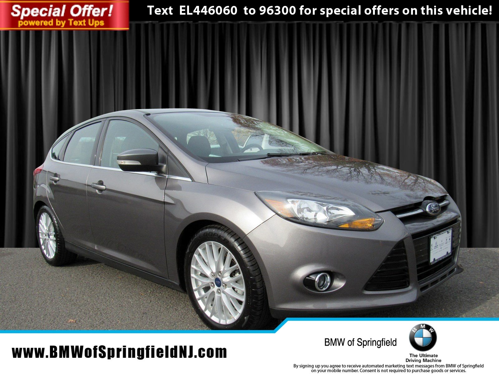 Pre Owned 2014 Ford Focus Titanium Hatchback in Springfield Township