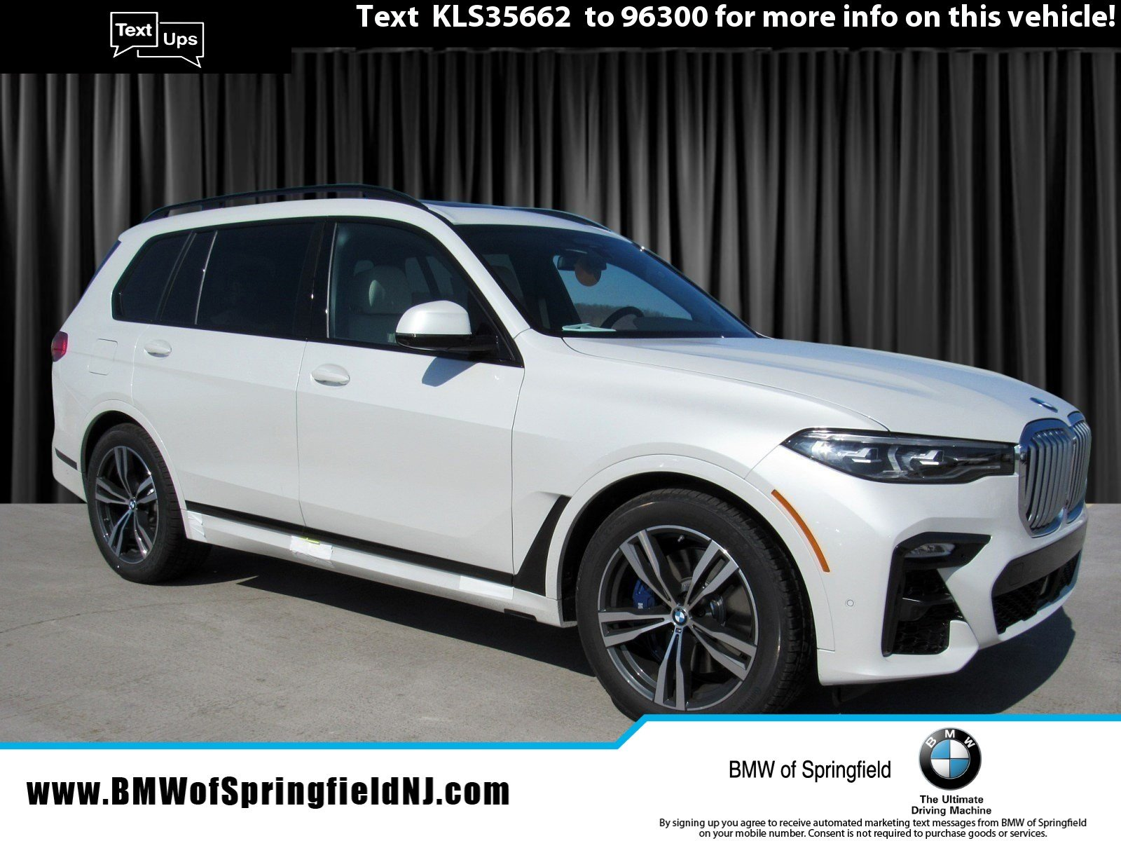 New 2019 Bmw X7 Xdrive50i Sport Utility In Springfield Township