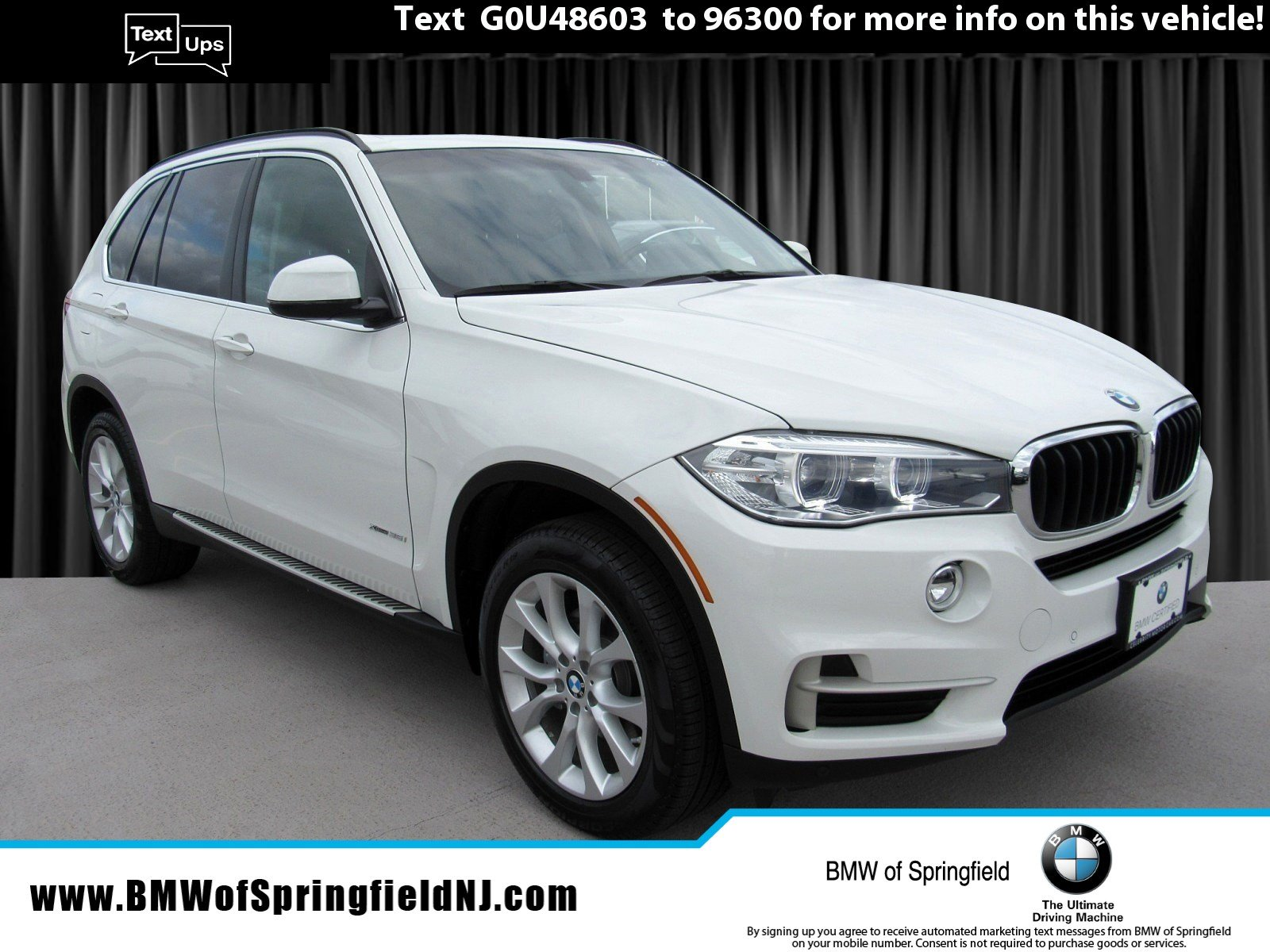 2016 BMW X5 xDRIVE35i -- CERTIFIED PRE-OWNED