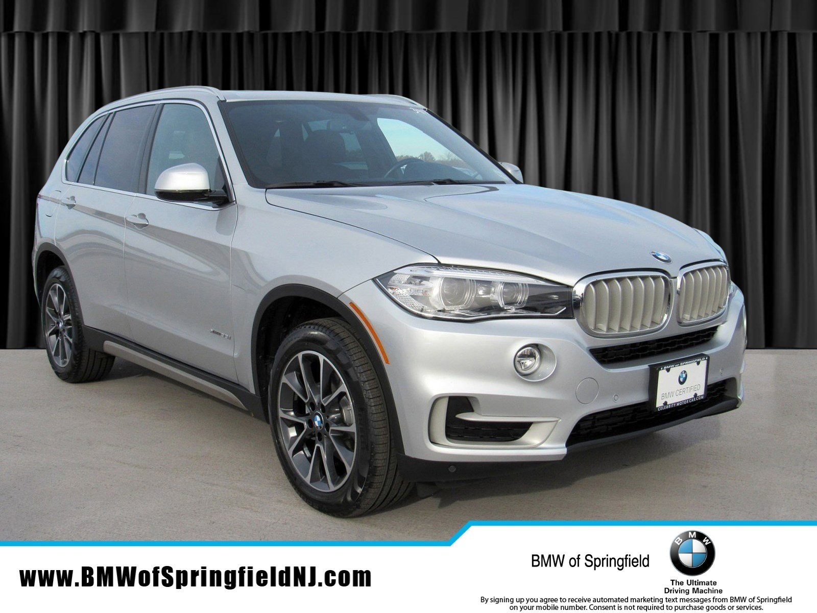 2017 BMW X5 xDRIVE35i -- CERTIFIED PRE-OWNED