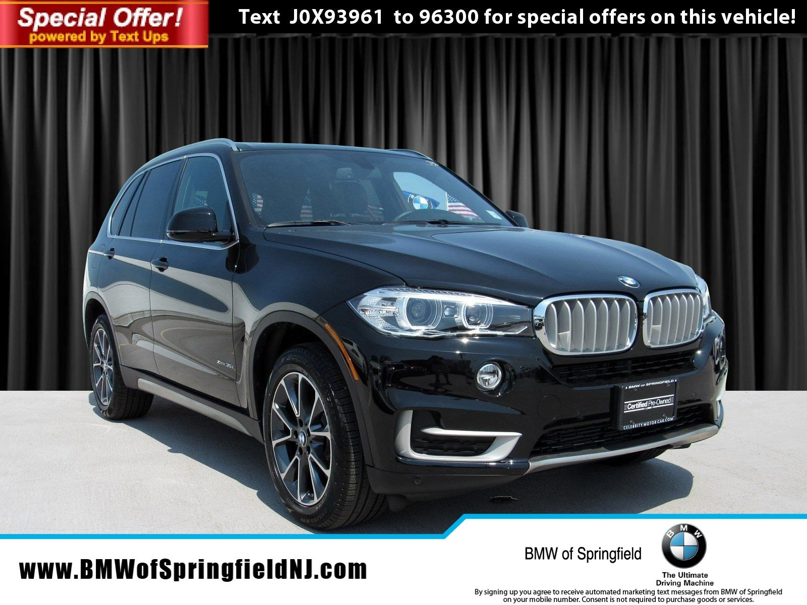 Certified Pre-Owned 2018 BMW X5 xDrive35i With Navigation & AWD