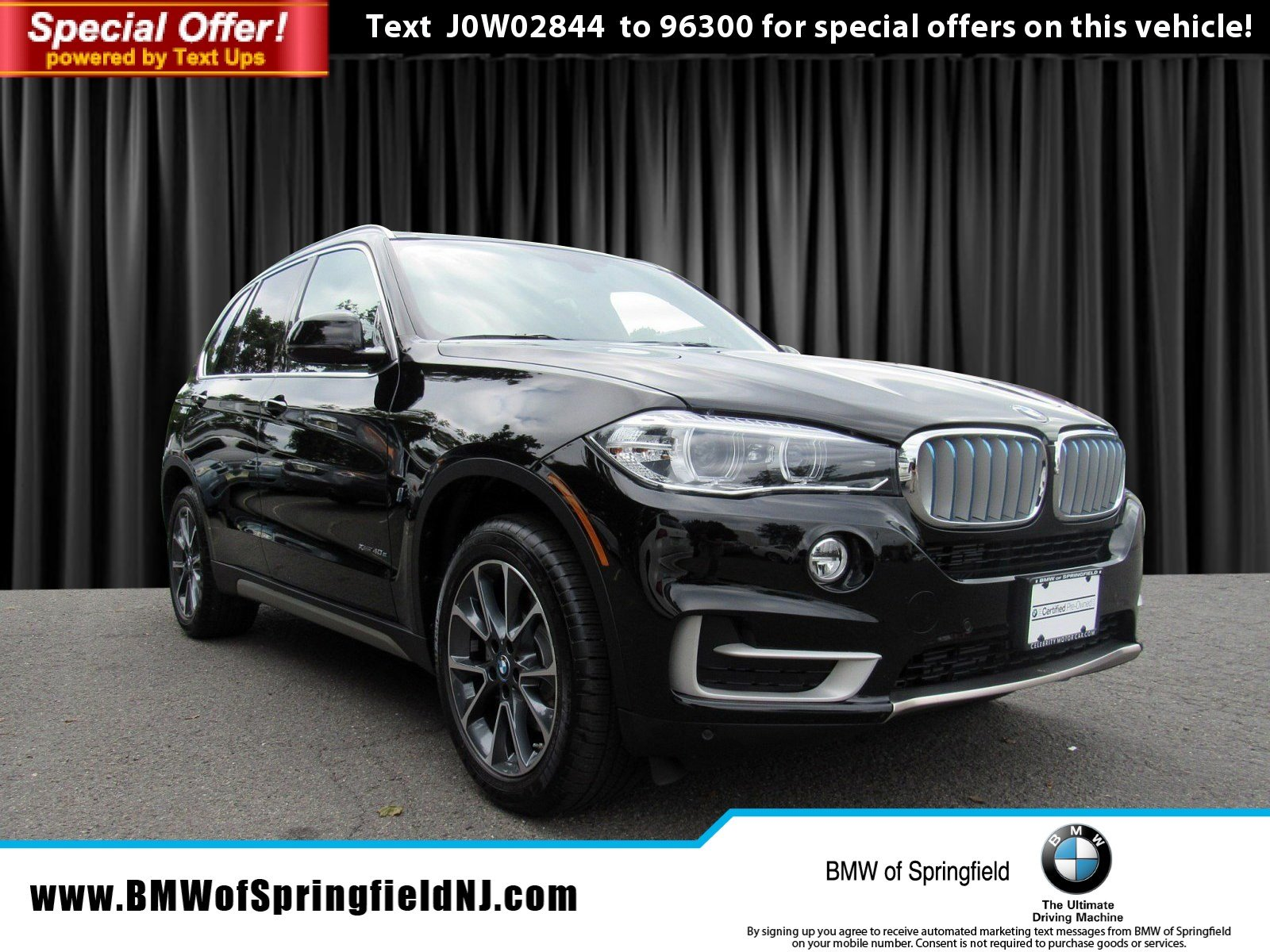 Certified Pre-Owned 2018 BMW X5 xDrive40e iPerformance With Navigation & AWD