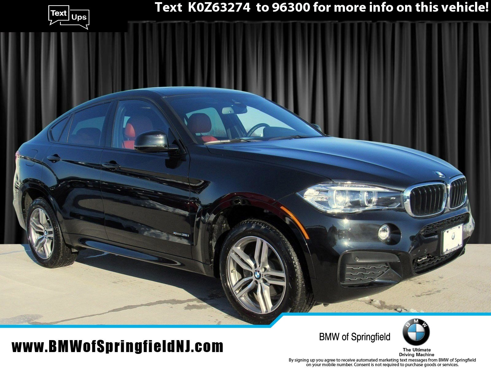 New 2019 Bmw X6 Xdrive35i With Navigation Awd