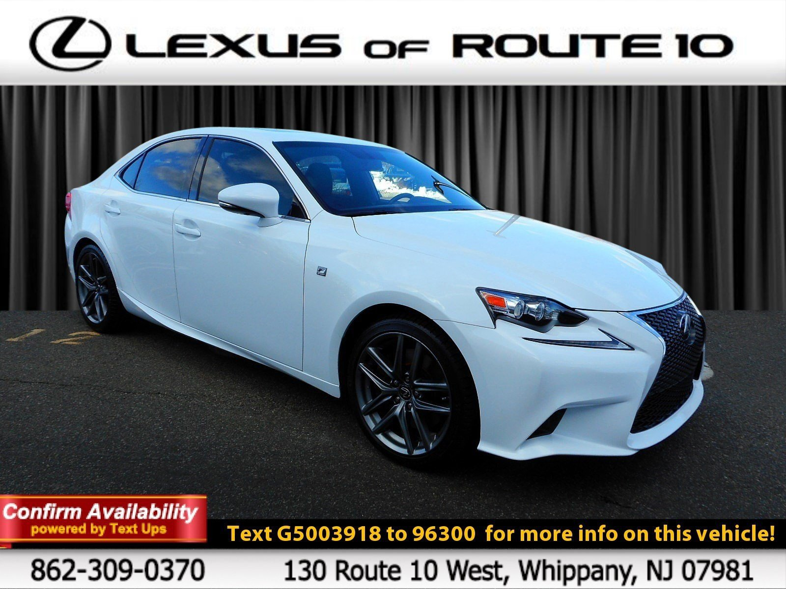Pre-Owned 2016 Lexus IS 300 300 4dr Car in Springfield Township ...