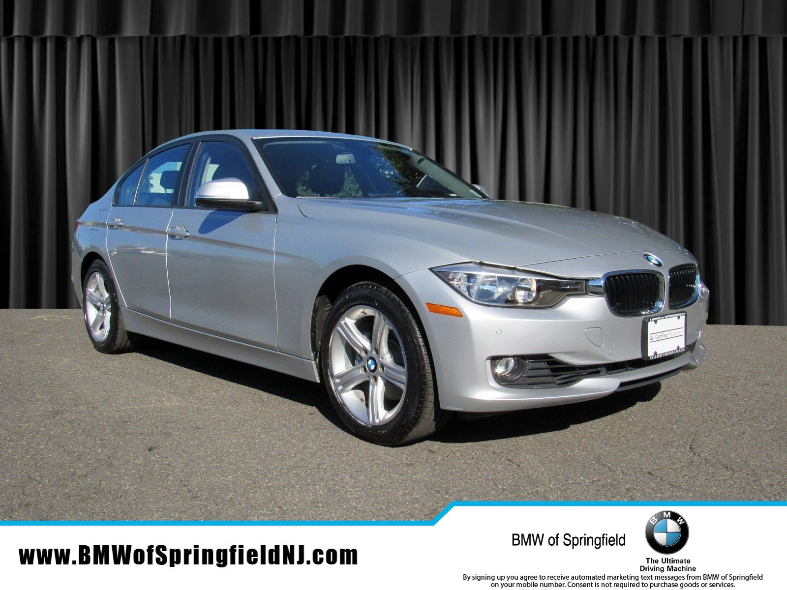 Certified Pre Owned 2015 BMW 3 Series 328i xDrive 4dr Car in