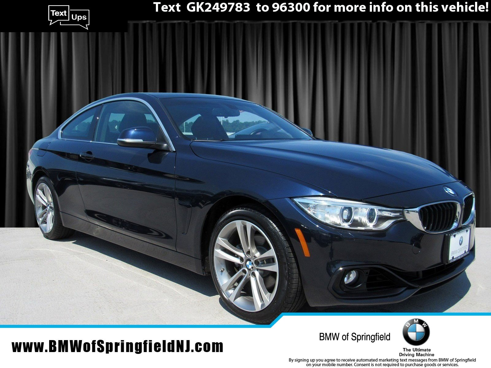 2016 BMW 428i xDRIVE - CERTIFIED PRE-OWNED