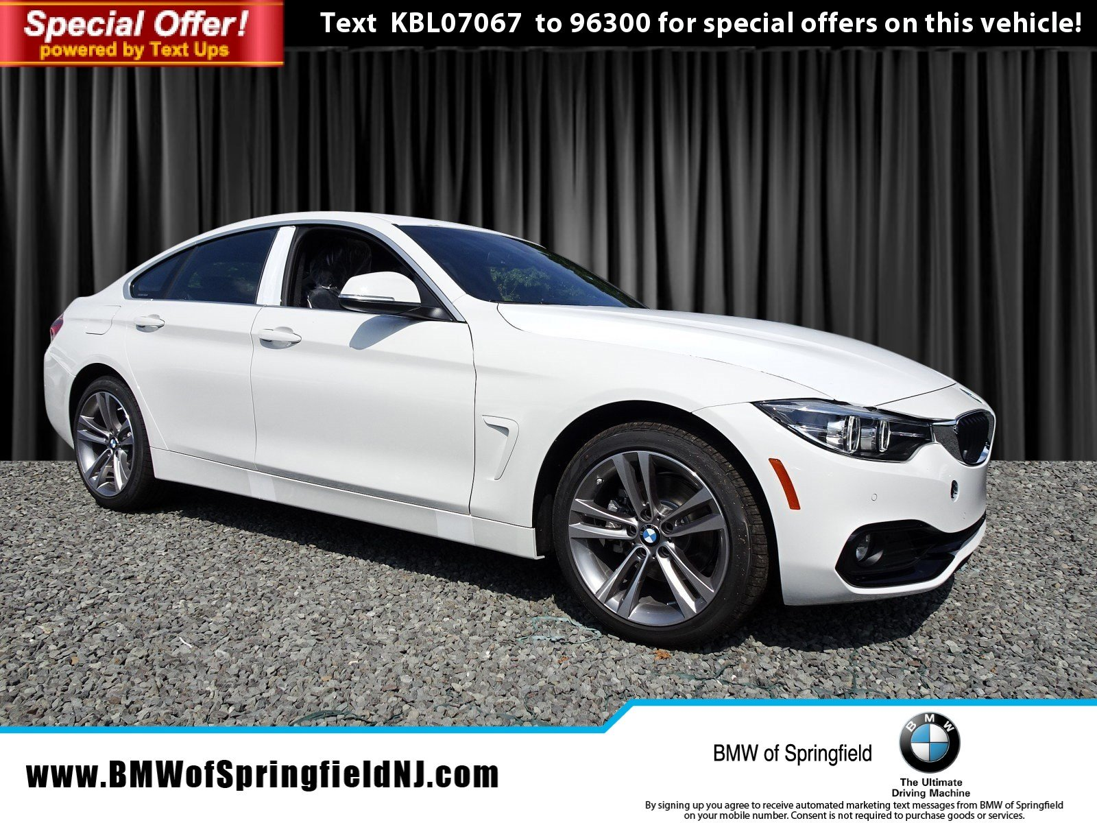 New 2019 BMW 4 Series 430i xDrive Hatchback in Springfield Township