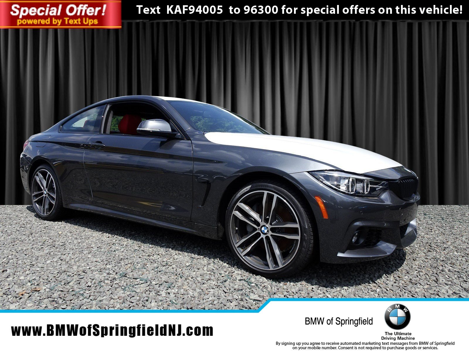 New 2019 BMW 4 Series 440i xDrive 2dr Car in Springfield Township