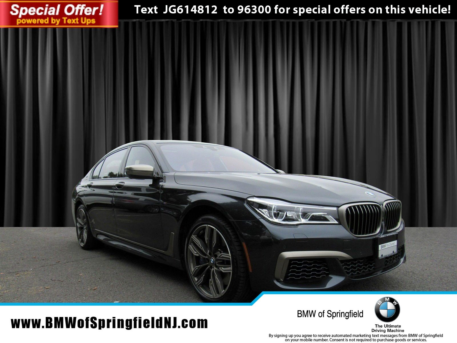 Pre Owned 2018 BMW 7 Series M760i xDrive 4dr Car in Springfield