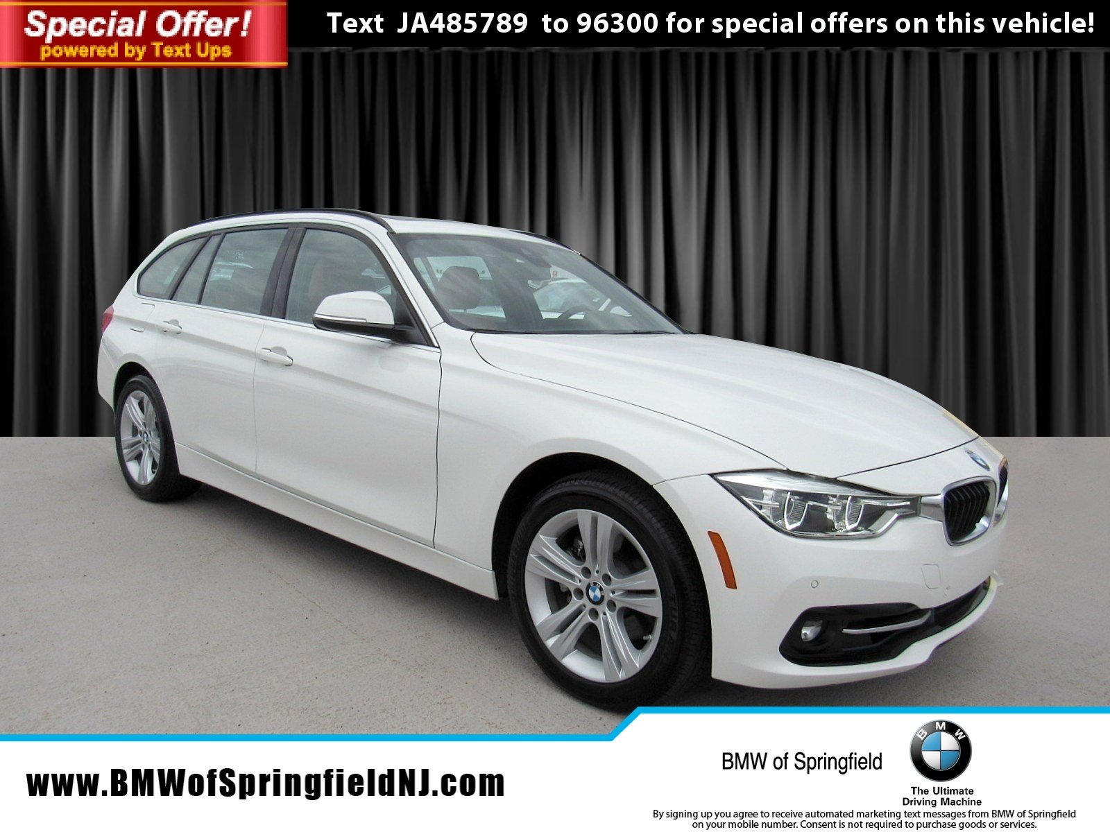 Pre Owned 2018 BMW 3 Series 330i xDrive Station Wagon in Springfield