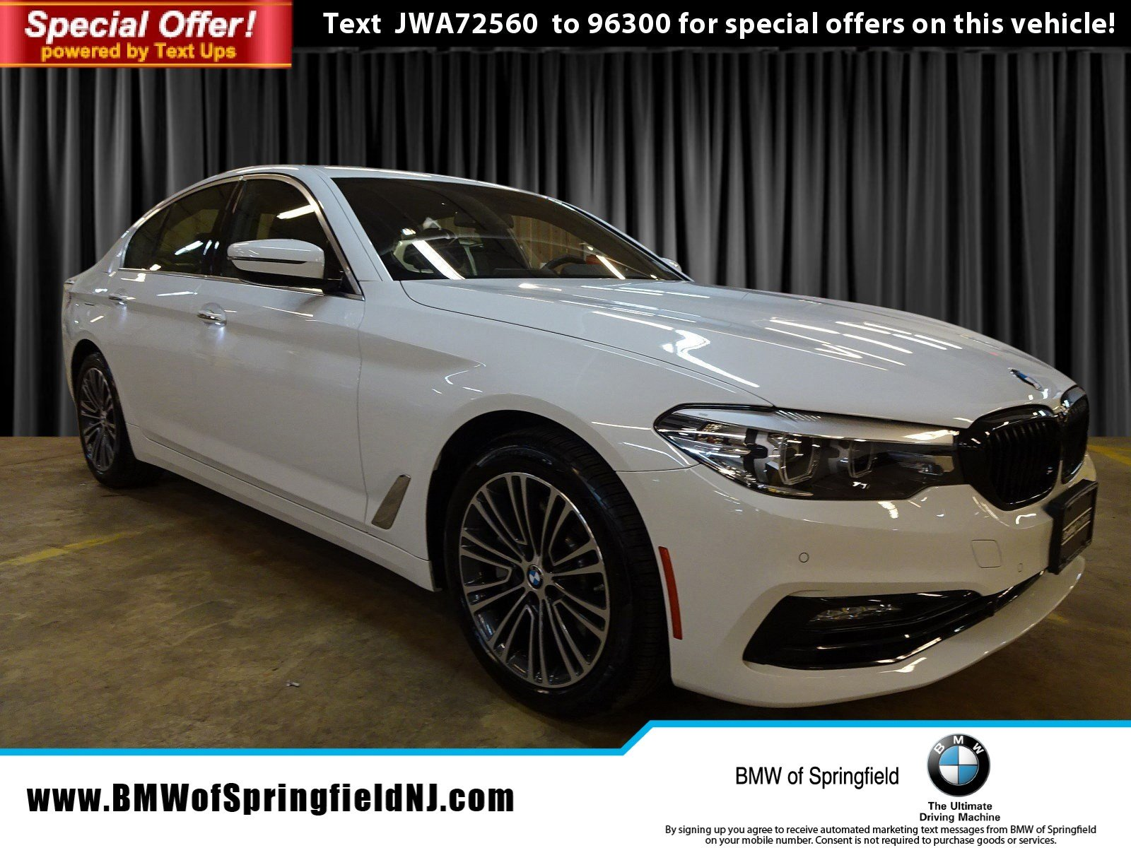 Certified Pre-Owned 2018 BMW 5 Series 530i xDrive With Navigation & AWD