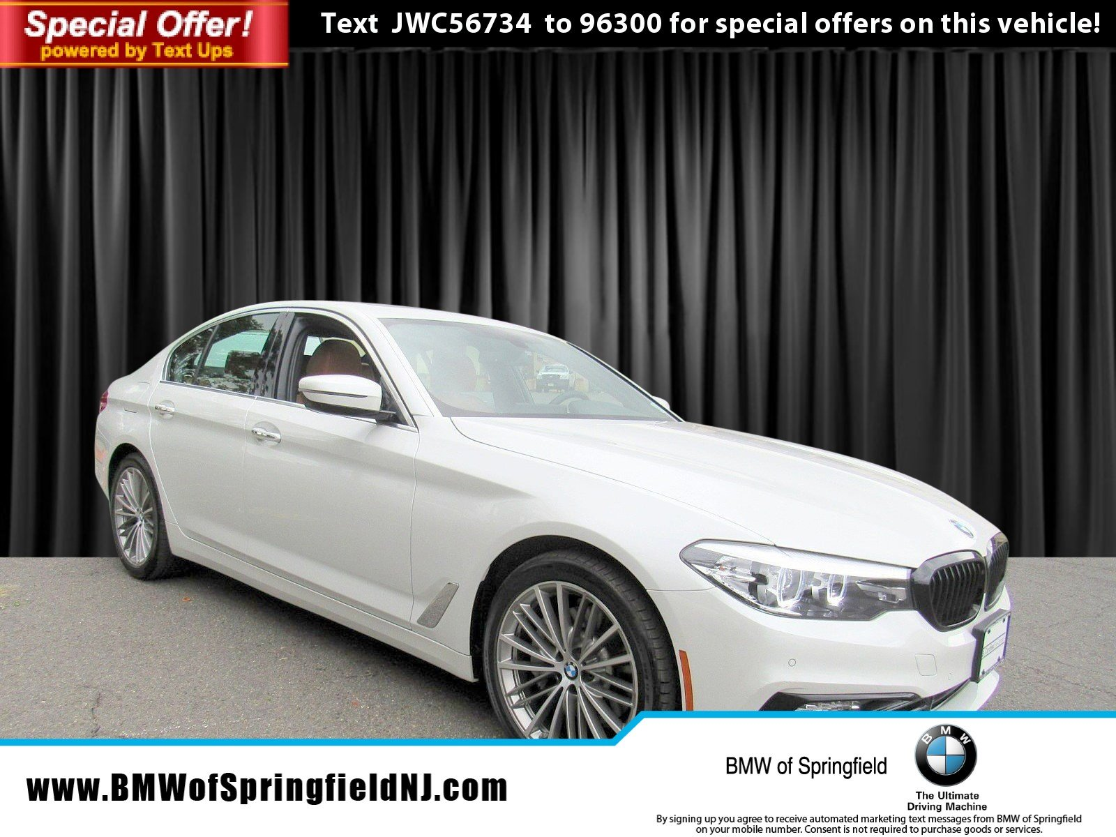 Certified Pre-Owned 2018 BMW 5 Series 540i xDrive With Navigation & AWD