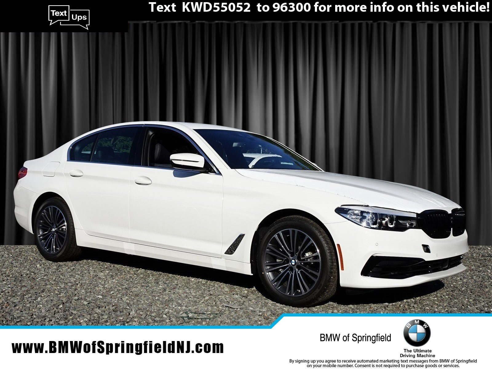 New 2019 Bmw 5 Series 540i Xdrive With Navigation Awd
