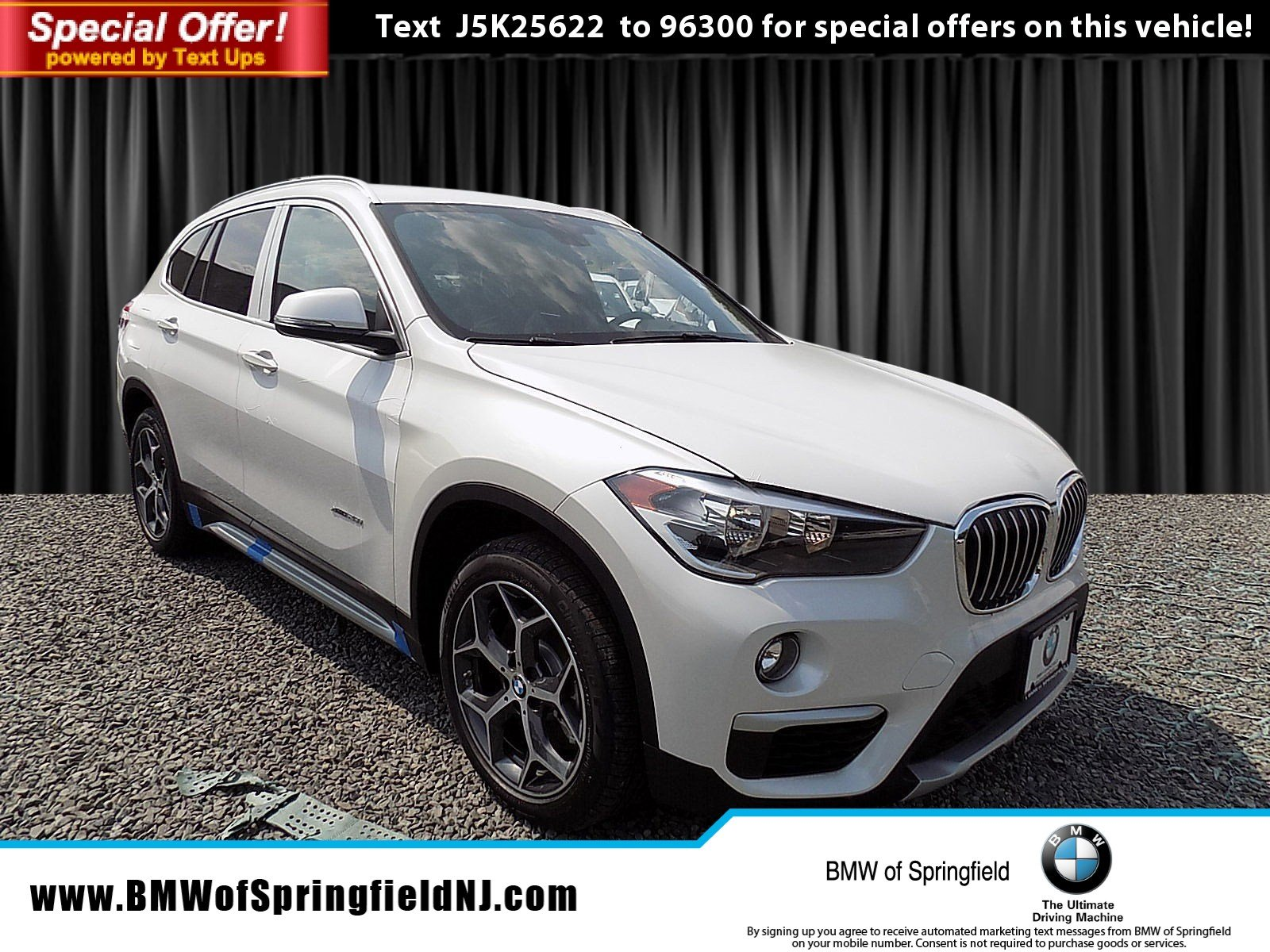 New 2018 BMW X1 xDrive28i Sport Utility in Springfield Township