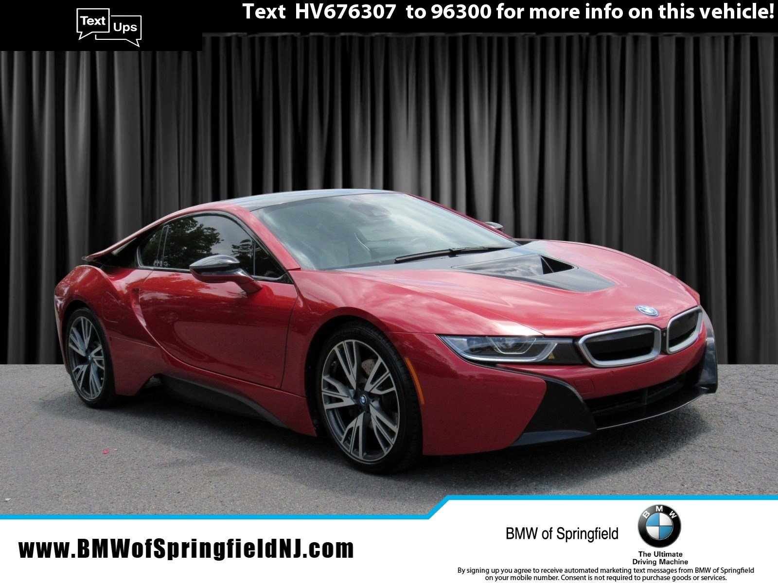 Pre-Owned 2017 BMW i8