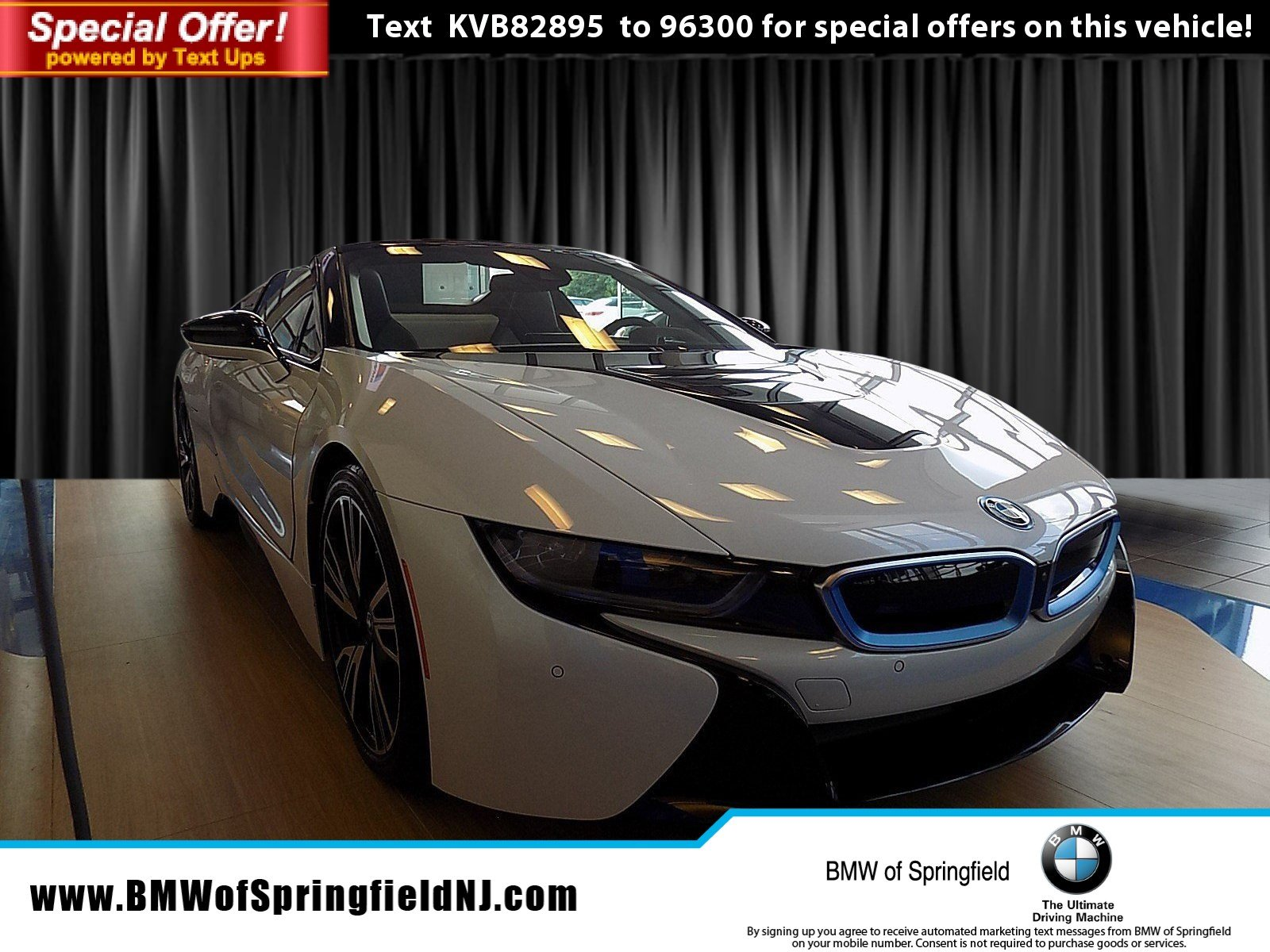 New 2019 BMW i8 Convertible in Springfield Township EB047