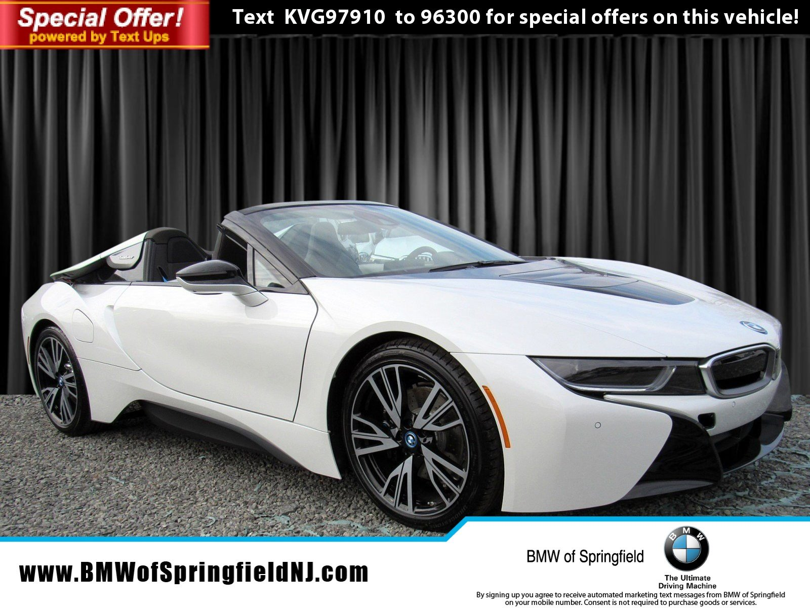 New 2019 Bmw I8 Convertible In Springfield Township Eb375 Bmw Of