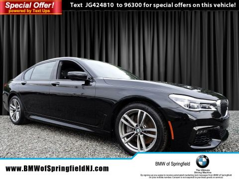 New 2018 BMW 7 Series 750i xDrive